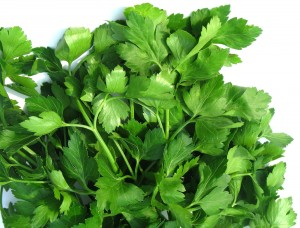 Parsley can reduce bad breath