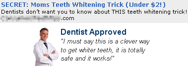 Contradiction - Is It Really Dentist Approved?