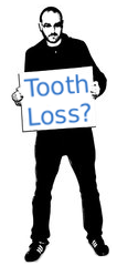 Man Asking About Tooth Loss