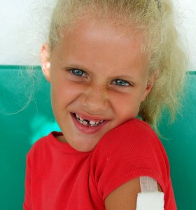 Girl With a Missing Tooth