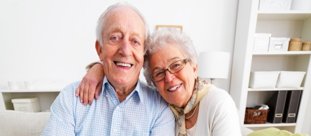 Older Couple with Teeth