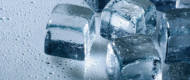 Chewing Ice Cubes Can Crack Your Teeth!