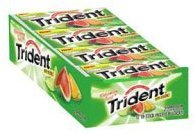 Trident Gum Contains Xylitol - Good for Your Teeth!