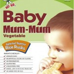 Baby Mum Mum Rice Rusks Teething Biscuits