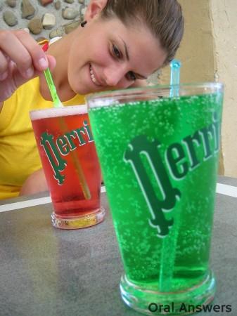 Acidic Drinks Can Dissolve Teeth