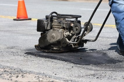 A Repaired Pothole Isn't as Good as the Original Road