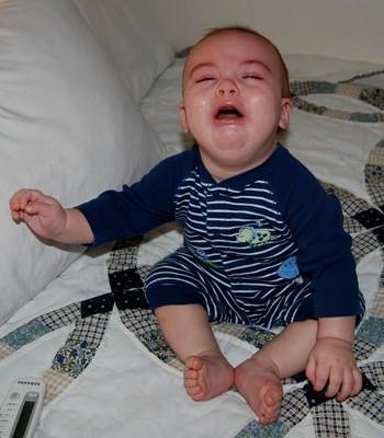 Teething Baby