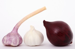 Garlic, French Onion, and Red Onion