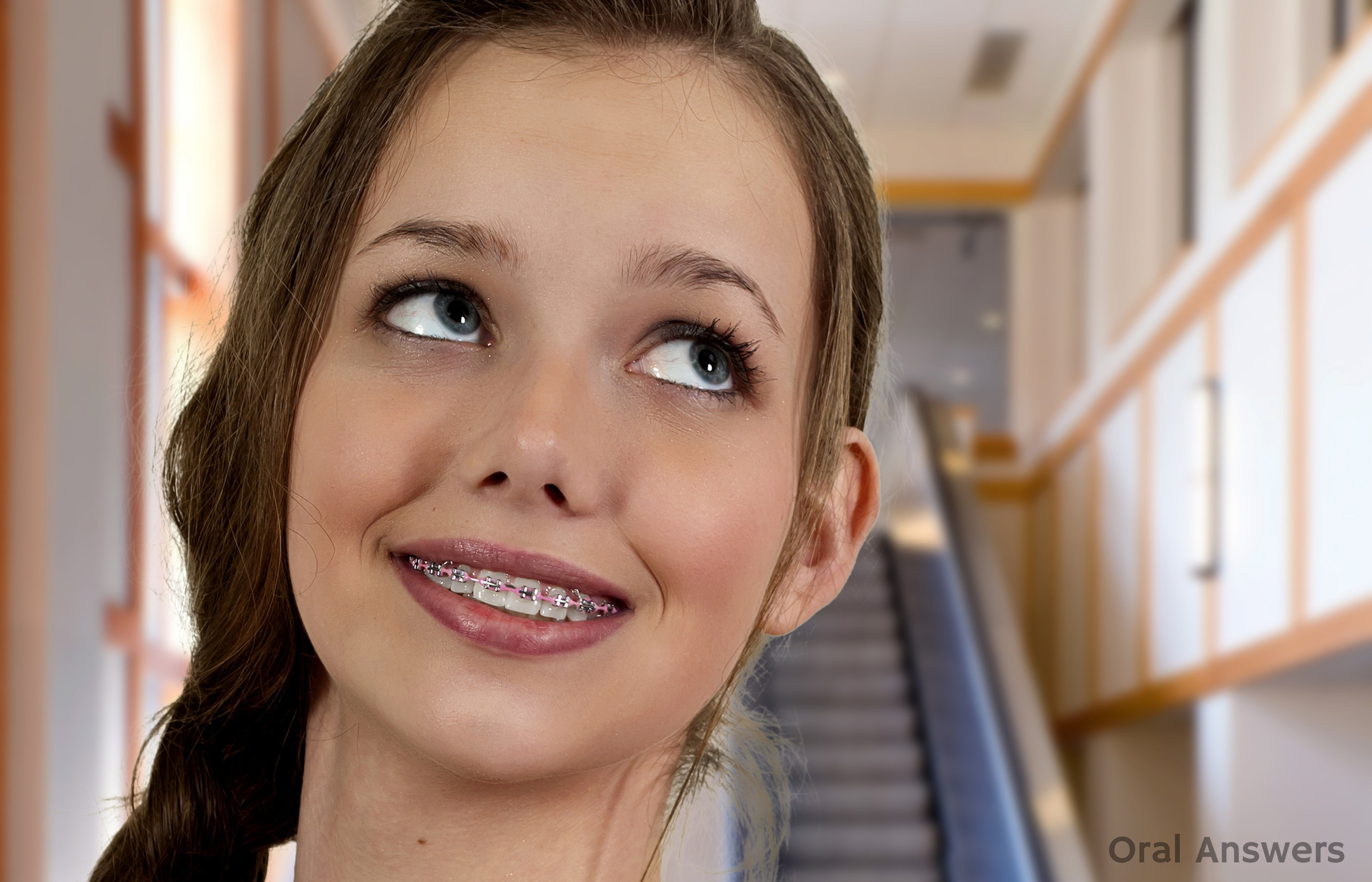 Teen with braces porn