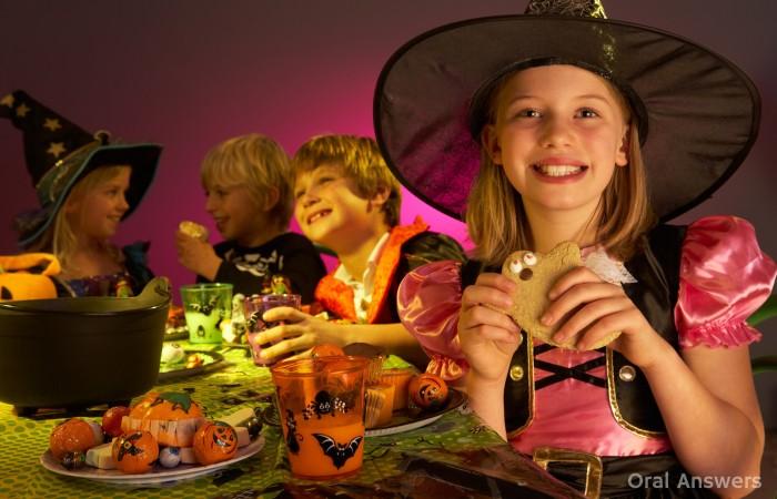 Halloween Candy Healthy Teeth
