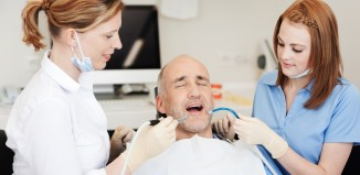 Dental Suction Dentists Suctioning